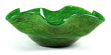 Floppy Bowl by Thomas Kelly (Art Glass Bowl)
