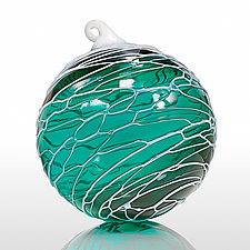 Windswept by Thomas Kelly (Art Glass Ornament)