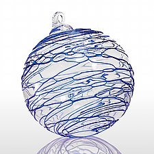 Wellspring by Thomas Kelly (Art Glass Ornament)