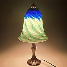 Table Lamp with Medium Base by Mark Rosenbaum (Art Glass Table Lamp)
