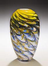 Optic Vase by Mark Rosenbaum (Art Glass Vase)