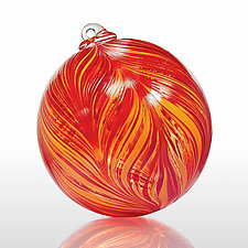 You Give Me Fever by Mark Rosenbaum (Art Glass Ornament)