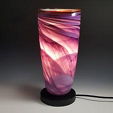 Dreamscape Uplight by Mark Rosenbaum (Art Glass Table Lamp)