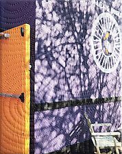 New Orleans Marigny Street 2 by Marilyn Henrion (Fiber Wall Hanging)