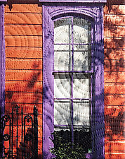 New Orleans Mandeville Street by Marilyn Henrion (Fiber Wall Hanging)
