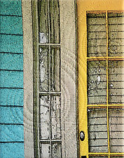 New Orleans Chestnut Street 3 by Marilyn Henrion (Fiber Wall Hanging)