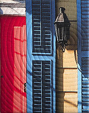 New Orleans Chartres Street by Marilyn Henrion (Fiber Wall Hanging)