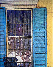 New Orleans Chestnut Street 2 by Marilyn Henrion (Fiber Wall Hanging)
