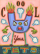 Cool Your Jets! by Hal Mayforth (Giclee Print)