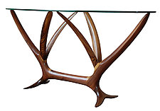 Wisteria Console by Brian Fireman (Wood Console Table)