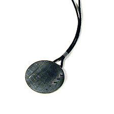 Three-Dots Pendant by Emanuela Aureli (Silver Necklace)