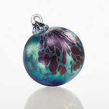 A Little Night Music by Corey Silverman (Art Glass Ornament)