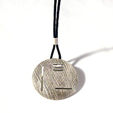 Japan Pendant by Emanuela Aureli (Silver Necklace)
