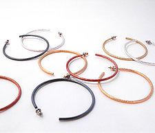 Hoops by Emanuela Aureli (Silver Earrings)