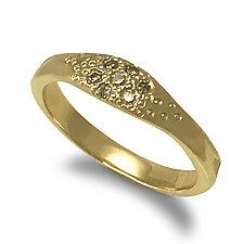 Sandy Ring by Keiko Mita (Gold & Stone Ring)