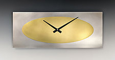 Marley Wall Clock by Leonie  Lacouette (Metal Clock)
