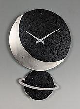 Celeste Pendulum Clock by Leonie  Lacouette (Wood Clock)