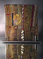 Autumn Entropy by Mark Ditzler (Art Glass Sculpture)