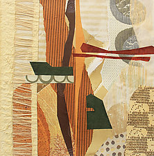 Balanced by Susan Adame (Mixed-Media Collage)