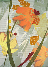 Flower Sense by Susan Adame (Mixed-Media Painting)