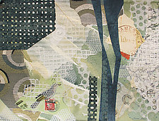 Bird In A Hand by Susan Adame (Mixed-Media Collage)