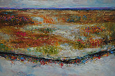 Autumn Song by Lori Austill (Encaustic Painting)