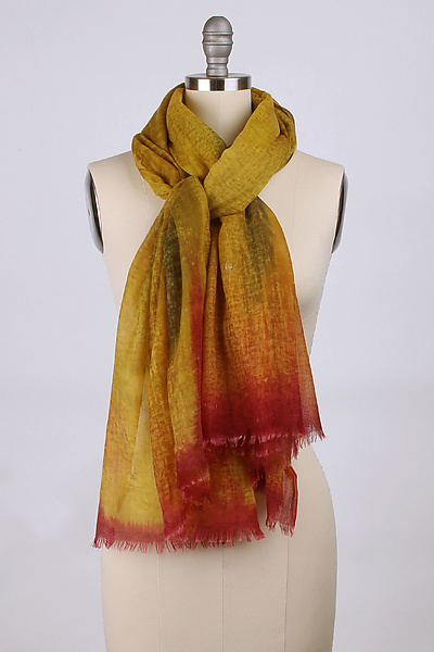 Ombre Wool Cashmere Scarf