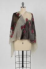 Lichen Wool Cashmere Scarf by Yuh Okano (Wool Scarf)