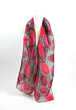 Hand Painted Project Scarf by Yuh Okano (Silk Scarf)