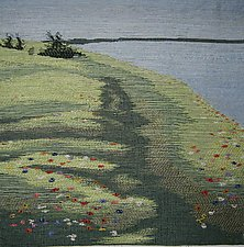 The Path by Sherry Schreiber (Fiber Wall Hanging)