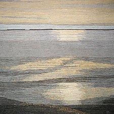 Luminous Morning 2 by Sherry Schreiber (Fiber Wall Hanging)