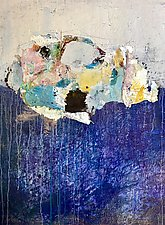 Cloudscape by Amy Longcope (Mixed-Media Painting)