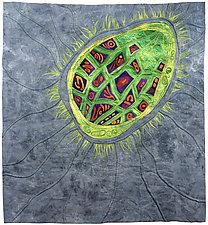 Seed Dreaming I by Karen Kamenetzky (Fiber Wall Hanging)