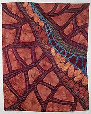 Roots of Rhythm X by Karen Kamenetzky (Fiber Wall Hanging)