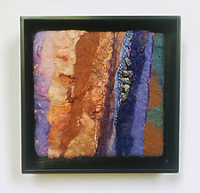 Fire and Ice III by Sharron Parker (Fiber Wall Hanging)