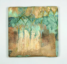 Sanctuary by Sharron Parker (Fiber Wall Hanging)