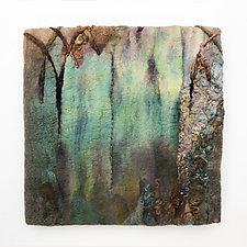 Tintern Abbey by Sharron Parker (Fiber Wall Hanging)