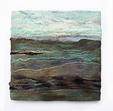 Saga—Iceland II by Sharron Parker (Fiber Wall Hanging)