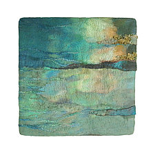 Light on the Water II by Sharron Parker (Fiber Wall Hanging)