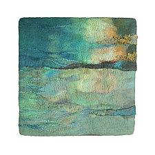 Light on the Water II by Sharron Parker (Fiber Wall Hanging)
