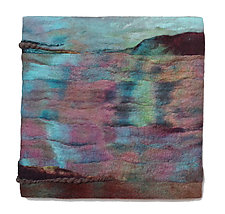 Saga / Iceland by Sharron Parker (Fiber Wall Hanging)
