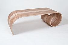 Toboggan Table by Kino Guerin (Wood Coffee Table)