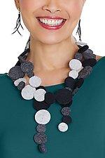 Dot Felted Necklace by Danielle Gori-Montanelli (Felt Necklace)