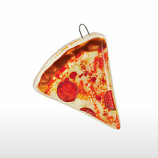 Pepperoni by Nina  Cambron (Art Glass Ornament)
