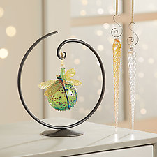 Circle Ornament Stand by Steven Bronstein (Metal Ornament Stand)