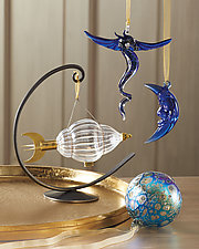 Orbit Ornament Stand by Steven Bronstein (Metal Ornament Stand)