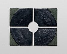 Small Series O by Nell Devitt (Ceramic Wall Sculpture)