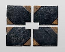 Small Series X by Nell Devitt (Ceramic Wall Sculpture)