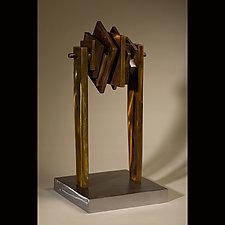 Abacus by Jeffrey Brown (Metal Sculpture)