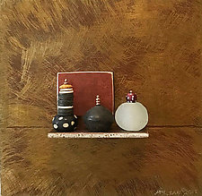 Bronze Still Life 85 by Jack McLean and Alice McLean (Metal Wall Sculpture)